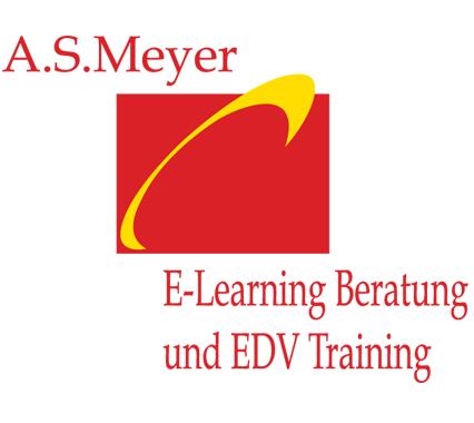 Logo Angelika Meyer E-Learning-Beratung EDV-Trainer München